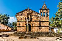 Capilla de Santa Barbara Barichara Santander in Colombia South America