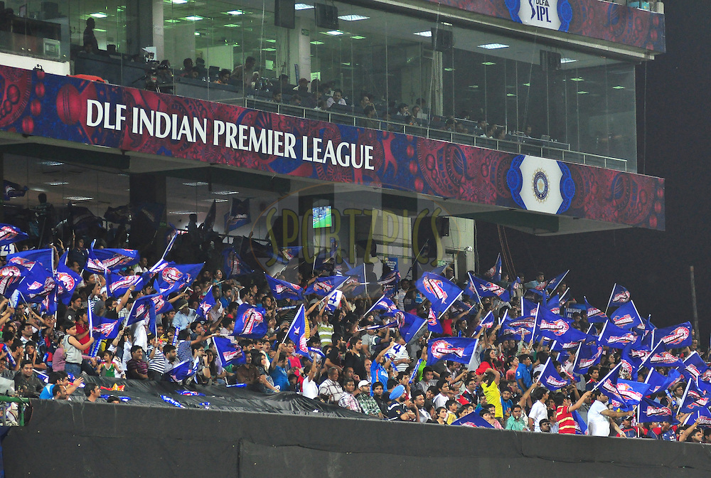 during match 27 of the the Indian Premier League ( IPL) 2012  between The Delhi Daredevils and the Pune Warriors India held at the Feroz Shah Kotla, Delhi on the 21st April 2012..Photo by Arjun Panwar/IPL/SPORTZPICS