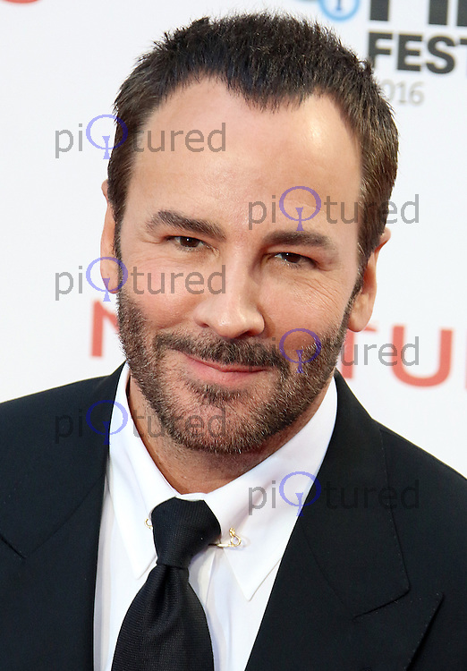 Tom Ford, BFI London Film Festival 2016: Nocturnal Animals - Headline Gala, Odeon Leicester Square, London UK, 14 October 2016, Photo by Brett D. Cove