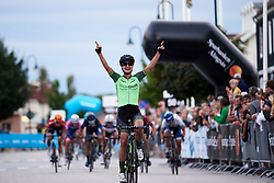 Marianne Vos (NED) wins Postnord Vårgårda West Sweden Road Race 2018, a 141 km road race in Vårgårda, Sweden on August 13, 2018. Photo by Sean Robinson/velofocus.com