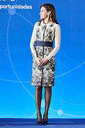 121817 Queen Letizia attends the presentation of the Prize for the 'Magistral Action 2017'