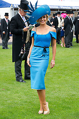 Katherine Jenkins at the Epsom Derby 2-6-12