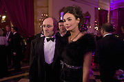 INES SASTRE AND PHIL COLLINS, Crillon Debutante Ball 2007,  Crillon Hotel Paris. 24 November 2007. -DO NOT ARCHIVE-© Copyright Photograph by Dafydd Jones. 248 Clapham Rd. London SW9 0PZ. Tel 0207 820 0771. www.dafjones.com.