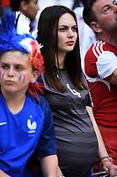 Tifosa Albania con pancione Supporters <br /> Marseille 15-06-2016 Stade du Velodrome <br /> Football Euro2016 France - Albania / Francia - Albania Group Stage Group A<br /> Foto Massimo Insabato / Insidefoto