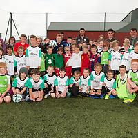 Group shot from FAI Eflow Summer Soccer School Lisdoonvarna