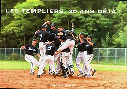 Les Templiers de Senart, 30th anniversary Book Cover, 2018.