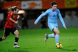 17-11-2009 VOETBAL: JONG ORANJE - JONG SPANJE: ROTTERDAM<br /> Nederland wint met 2-1 van Spanje / Daryl Janmaat<br /> ©2009-WWW.FOTOHOOGENDOORN.NL