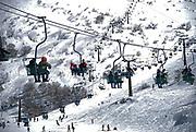 Israel, Hermon Mountain sky resort