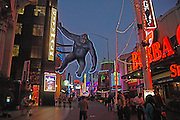 Universal City Walk in LA at Dusk