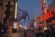 Universal City Walk in LA at Dusk