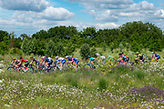 General view of the riders during Stage 2 of the OVO Energy Women's Tour 2019 at Cyclopark, Gravesend, United Kingdom on 11 June 2019.
