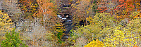 Big Clifty Falls and Fall Foliage, Clifty Falls State Park, Madison, Indiana