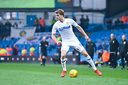 Patrick Bamford of Leeds United (9) in action during the EFL Sky Bet Championship match between Leeds United and Bolton Wanderers at Elland Road, Leeds, England on 23 February 2019.