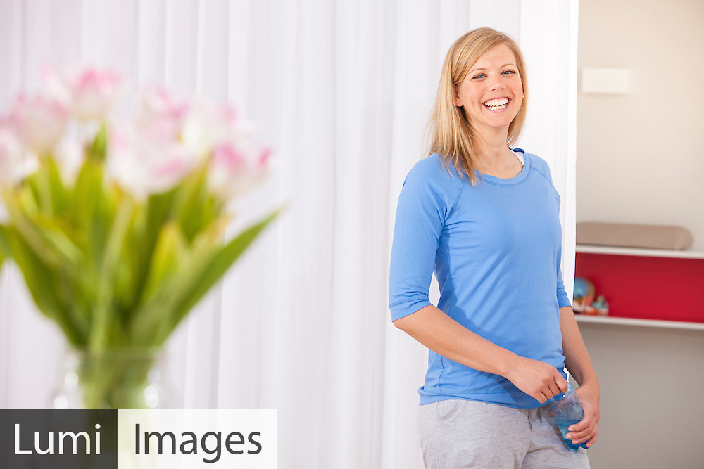 Women, Cheerful, Smiling, Relaxation, Fitness, Gym,