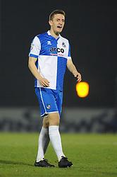 Bristol Rovers' Lee Brown - Photo mandatory by-line: Dougie Allward/JMP - Mobile: 07966 386802 - 20/03/2015 - SPORT - Football - England - Memorial Stadium - Bristol Rovers v Aldershot - Vanarama Football Conference
