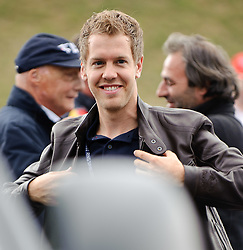 14.05.2011, Red Bull Ring, Spielberg, AUT, RED BULL RING, SPIELBERG, EROEFFNUNG, im Bild Sebastian Vettel, (Red Bull Racing) // during the official Opening for the Red Bull Circuit in Spielberg, Austria, 2011/05/14, EXPA Pictures © 2011, PhotoCredit: EXPA/ S. Zangrando