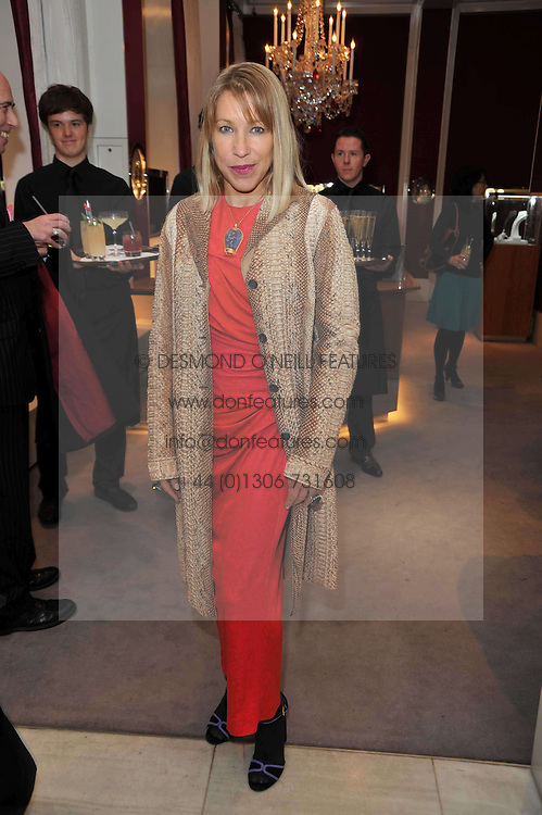 MAIA NORMAN at a party to launch the Georgina Chapman collection for Garrard held at Garrard, Albermarle Street, London on 4th November 2009.