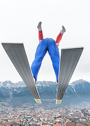02.01.2016, Bergisel Schanze, Innsbruck, AUT, FIS Weltcup Ski Sprung, Vierschanzentournee, Training, im Bild Roman Koudelka (CZE) // Roman Koudelka of Czech Republic during his Practice Jump for the Four Hills Tournament of FIS Ski Jumping World Cup at the Bergisel Schanze, Innsbruck, Austria on 2016/01/02. EXPA Pictures © 2016, PhotoCredit: EXPA/ JFK