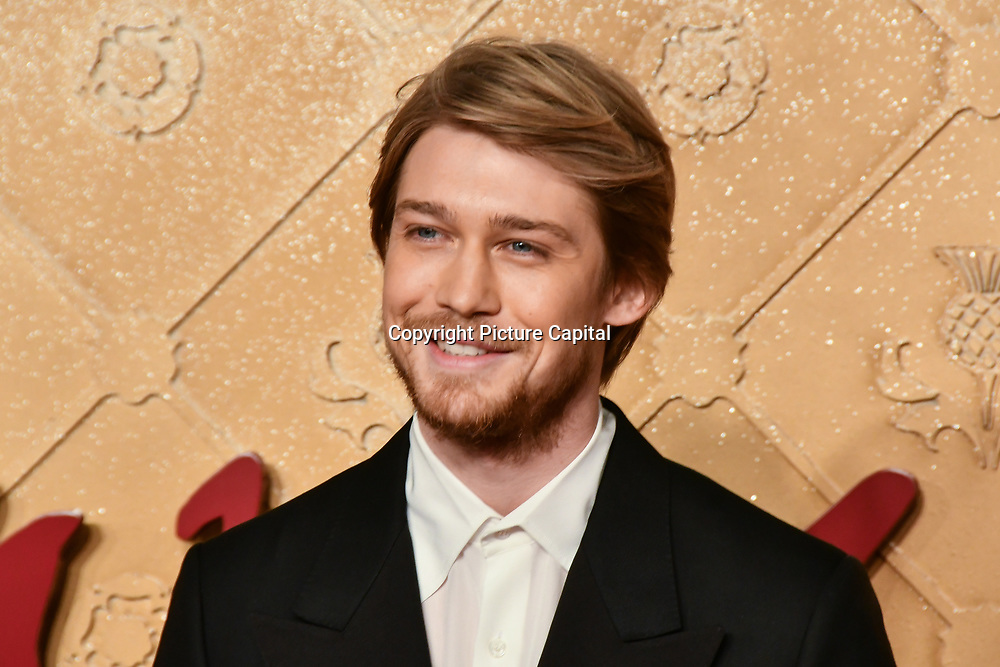 Joe Alwyn Arrivers at Mary, Queen of Scots - European premiere ay Cineworld,  Leicester Square on 10 December 2018, London, UK.