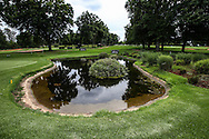 Reverse view of the 5th pond on the East Course, Royal Johannesburg & Kensington Golf Club, Gauteng, Johannesburg, South Africa.  11/01/2016. Picture: Golffile | David Lloyd<br /> <br /> All photos usage must carry mandatory copyright credit (© Golffile | David Lloyd)
