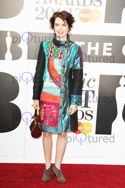 Catrin Finch, The Classic Brit Awards 2013, Royal Albert Hall, London UK, 05 October 2013, (Photo by Brett D. Cove)