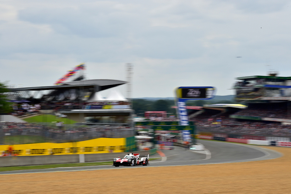 #7 Toyota Gazoo Racing Toyota TS050: Mike Conway, Kamui Kobayashi, Jose Maria Lopez<br /> Saturday 16 June 2018<br /> 24 Hours of Le Mans<br /> 2018 24 Hours of Le Mans<br /> Circuit de la Sarthe  FR<br /> World Copyright: Scott R LePage