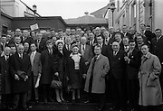17/11/1964<br /> 11/17/1964<br /> 17 November 1964<br /> <br /> At the Official opening of the Fianna Fail Ard Fheis at the Mansion House Dublin