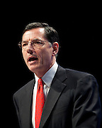 Feb 11, 2011 - Washington, District of Columbia, U.S. - Senator John Barrasso (R- WY) speaks to conservatives at the the annual Conservative Political Action Conference (CPAC) in Washington, D.C on Friday.  More than 11,000 activists and politicians are expected for the 38th annual conference. The three-day meeting is the largest conservative gathering of the year. (Credit Image: © Pete Marovich/ZUMA Press)