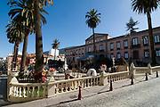 Town square of La Orotava, Teneriffa, Canary islands,Spain