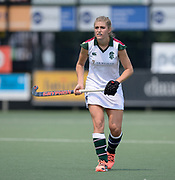Surbiton's Sarah Haycroft during their opening game of the EHCC 2017 at Den Bosch HC, The Netherlands, 2nd June 2017