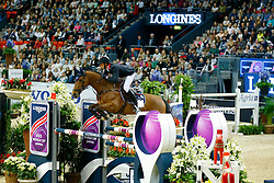 Staut Kevin, (FRA), For Joy van't Zorgvliet Hdc<br /> Longines FEI World Cup Jumping Final II<br /> © Dirk Caremans