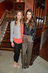 Left to right, SOPHIE PUMFRETT and SARAH ANN MACKLIN at a Gala Performance of Impossible at the Noël Coward Theatre, 85-88 Saint Martin's Lane, London on 13th July 2016.