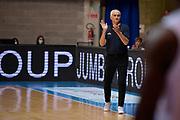 Coach Vincenzo Cavazzana of Openjobmetis Varese durante il Girone A di Eurosport Supercoppa 2020 tra Openjobmetis Varese - S.Bernardo Cantu , Desio 07September 2020.<br /> Foto Mattia Ozbot / Ciamillo-Castoria