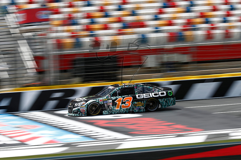 May 25, 2017 - Concord, NC, USA: Ty Dillon (13) takes to the track to practice for the Coca Cola 600 at Charlotte Motor Speedway in Concord, NC.