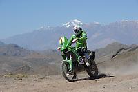 MOTORSPORT - DAKAR ARGENTINA CHILE PERU 2012 - STAGE 3 - SAN RAFAEL (ARG) TO SAN JUAN (ARG)  - 03/01/2012 - PHOTO: ERIC VARGIOLU / DPPI<br /> 06 ULLEVALSETER PAL ANDERS (NOR) KTM 450 R - ACTION