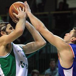 20081129: Basketball - NLB league, KK Krka vs KK Cibona Zagreb