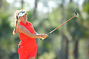 Dani Holmqvist during the final round of LPGA Q-School Stage 3 on the Hills Course at LPGA International in Daytona Beach, Florida on Dec. 4, 2016.<br /> <br /> <br /> ©2016 Scott A. Miller