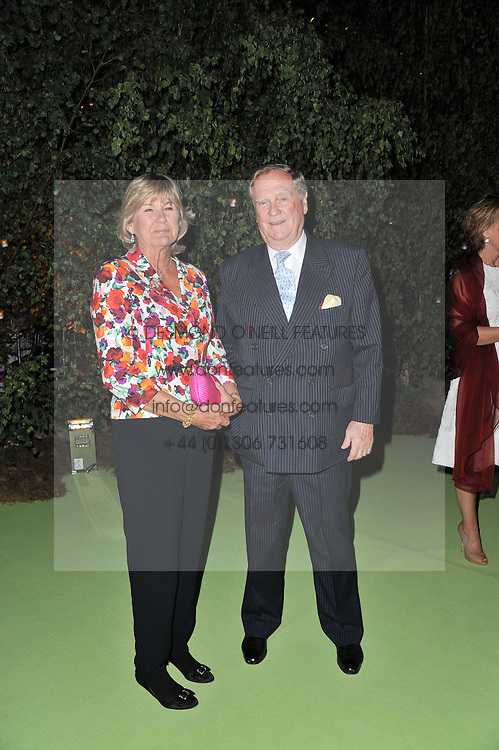 The EARL & COUNTESS OF SUFFOLK & BERKSHIRE at a dinner hosted by Cartier in celebration of the Chelsea Flower Show held at Battersea Power Station, 188 Kirtling Street, London SW8 on 23rd May 2011.