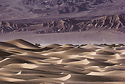 Death Valley sand dunes.