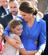 Duke & Duchess of Cambridge Visit Strassenkinder