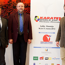 20130213: SLO, Karate - Press conference of Karate 1 World Cup Thermana Slovenia 2013