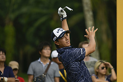 March 22, 2019 - Kuala Lumpur, Malaysia - Ryo Ishikawa of Japan in action on Day Two of the Maybank Championship at Saujana Golf and Country Club on March 22, 2019 in Kuala Lumpur, Malaysia  (Credit Image: © Chris Jung/NurPhoto via ZUMA Press)