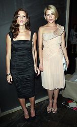 Ashley Greene and Rachael Taylor at the Donna Karan show at  New York Fashion Week, Monday, 10th  September 2012. Photo by: Stephen Lock / i-Images