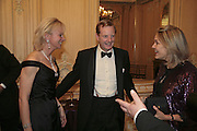 Earl and Countess of Derby and  Mrs. Arnaud Bamberger, Cartier Racing Awards , Four Seasons Hotel, Hamilton Place, London, W1, 15 November 2006. ONE TIME USE ONLY - DO NOT ARCHIVE  © Copyright Photograph by Dafydd Jones 66 Stockwell Park Rd. London SW9 0DA Tel 020 7733 0108 www.dafjones.com