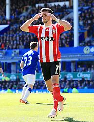 Shane Long of Southampton rues a missed chance - Mandatory by-line: Matt McNulty/JMP - 16/04/2016 - FOOTBALL - Goodison Park - Liverpool, England - Everton v Southampton - Barclays Premier League