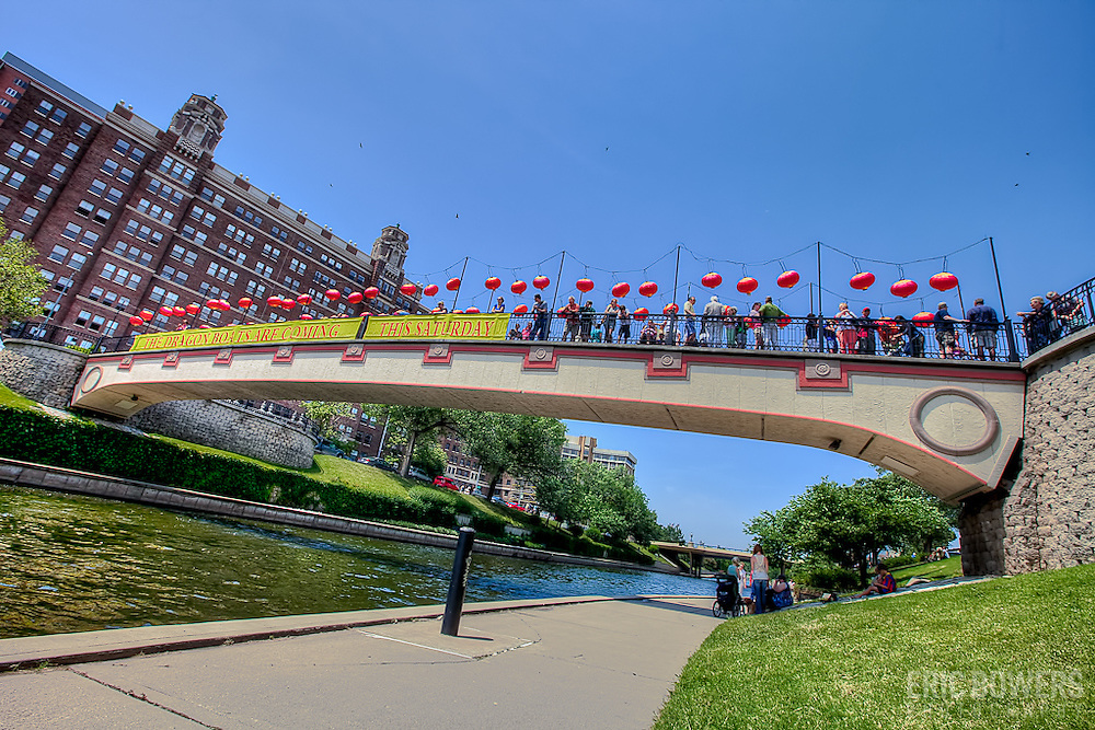 The Dragon Boat Races every year in June at Brush Creek in Kansas City, organized by the KC Society for Friendship with China.