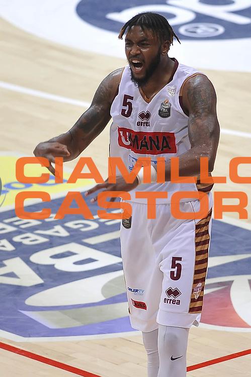 Julyan Stone<br /> Dolomiti Energia Aquila Basket Trento - Umana Reyer Venezia<br /> Playoff Gara 3<br /> Lega Basket 2016/2017<br /> Trento 14/06/2017<br /> Foto Ciamillo-Castoria
