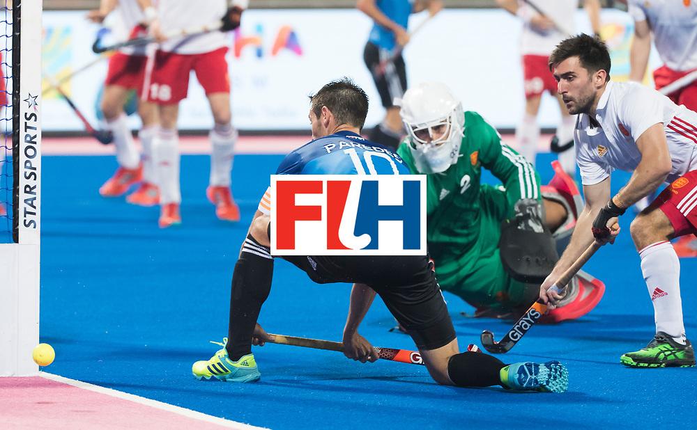 Odisha Men's Hockey World League Final Bhubaneswar 2017<br /> Match id:14<br /> England v Argentina , Quater Final<br /> Foto:Matias Paredes (Arg) <br /> WSP COPYRIGHT KOEN SUYK