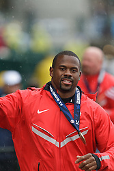 Olympic Trials Eugene 2012: Hammer Throw Olympic team member Kibwe Johnson