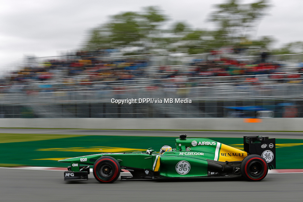 MOTORSPORT - F1 2013 - GRAND PRIX OF CANADA - MONTREAL (CAN) - 07 TO 09/06/2013 - PHOTO FRANCOIS FLAMAND / DPPI - PIC CHARLES (FR) CATERHAM RENAULT CT03 - ACTION